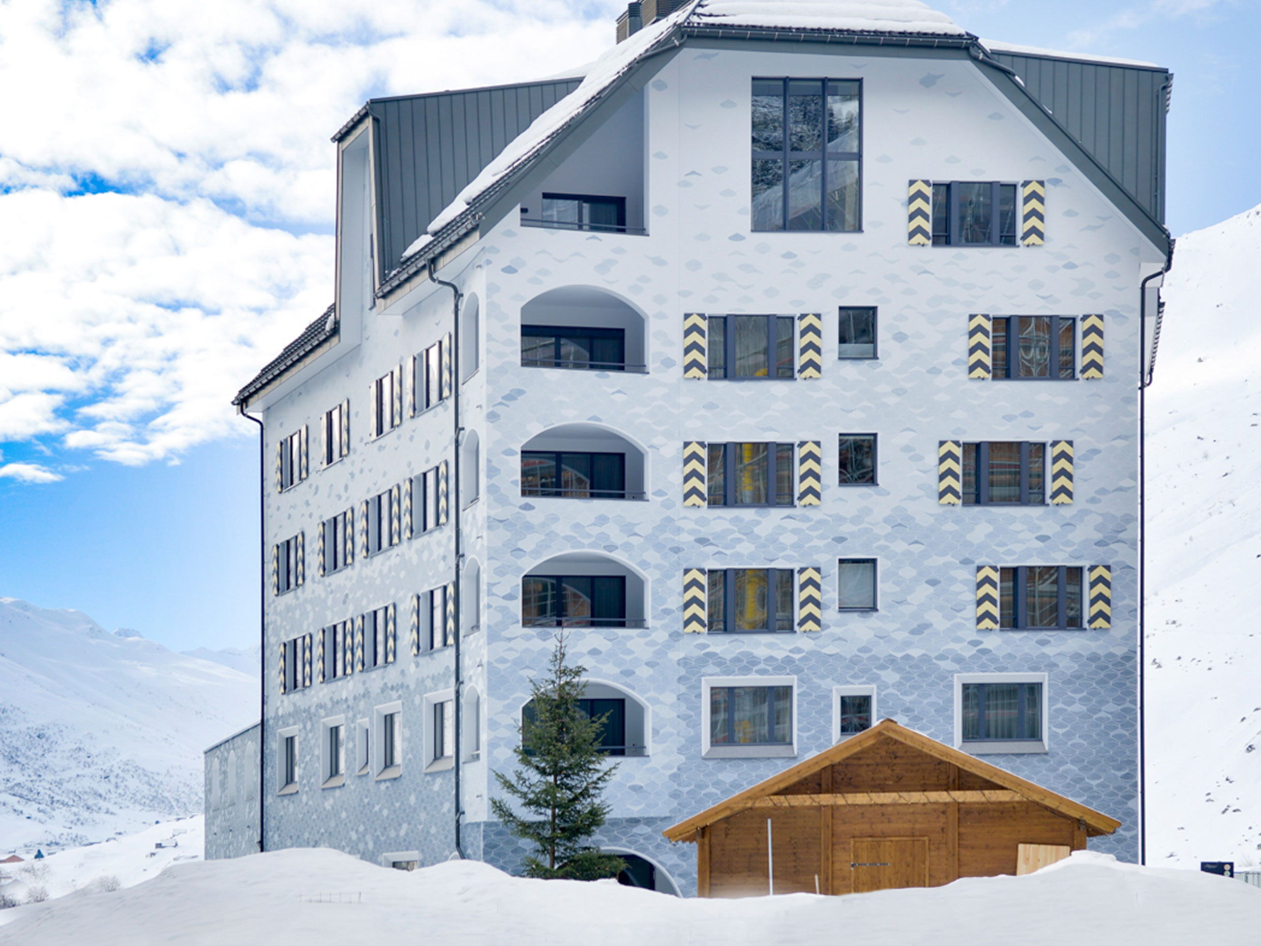 Timbatec Ch Apartment Buildings Wolf And Edelweiss