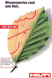 Brochure Hilti Holz ABC - Interesting Facts about Timber