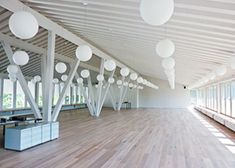 School Building Made of Wood: Better Acoustics, Quieter Schoolchildren