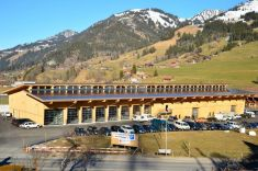 Former Federal Councillor Merz has Opened the New Simmental Arena in Zweisimmen