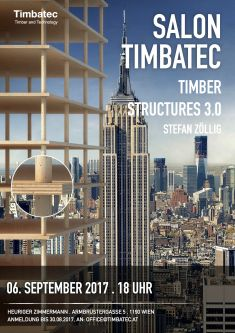 Salon Timbatec Wien: Timber Structures 3.0