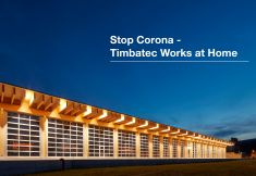 Stop Corona -  Timbatec Works at Home
