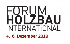 25. Internationales Holzbau-Forum (IHF2019)