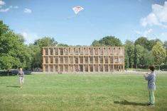 Timbatec plans two new school buildings in French-speaking Switzerland