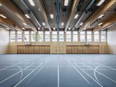 The Walls and Ceiling of the Gymnasium are made of Timber
